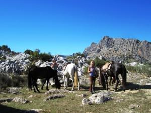 horse treks sierra grazalema