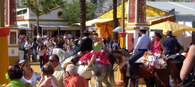 15-22 may, a week full of tradition: horse fair Jerez, riding and local artcrafts